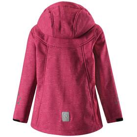 Reima Kids Mingan Softshell Jacket Rose